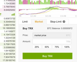 How to buy cryptocurrency at Binance
