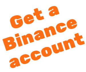 Get a Binance account