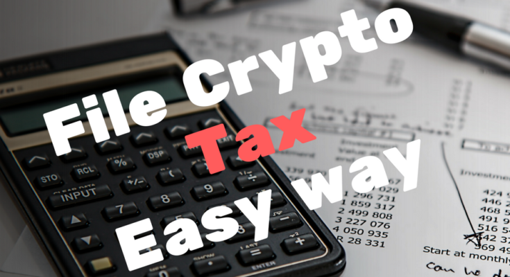 How to file tax for Cryptocurrency with cointracking