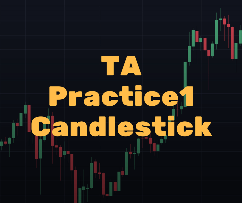 Technical Analysis Practice 1 – How to Read a Candlestick Chart