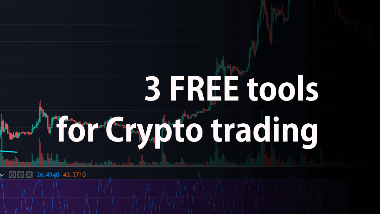 3 FREE tools you need to make money with Crypto